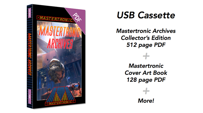 Mastertronic '199 Range' inspired USB Cassette preloaded with all PDFs and more!