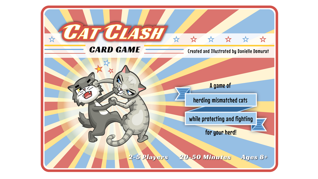 Cat Clash Card Game project video thumbnail