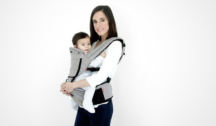 fd78b27a0d6 The first innovative 3D baby hip carrier with storage pocket allowing you  to be TRULY handsfree