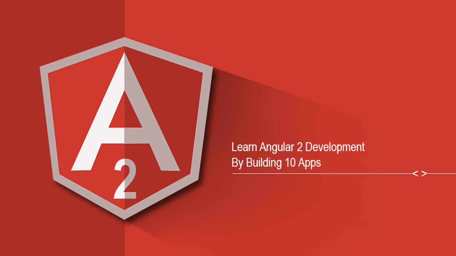 Learn Angular 2 Development By Building Projects - is a online course to learn Angular 2 Development by building 10 real word apps.