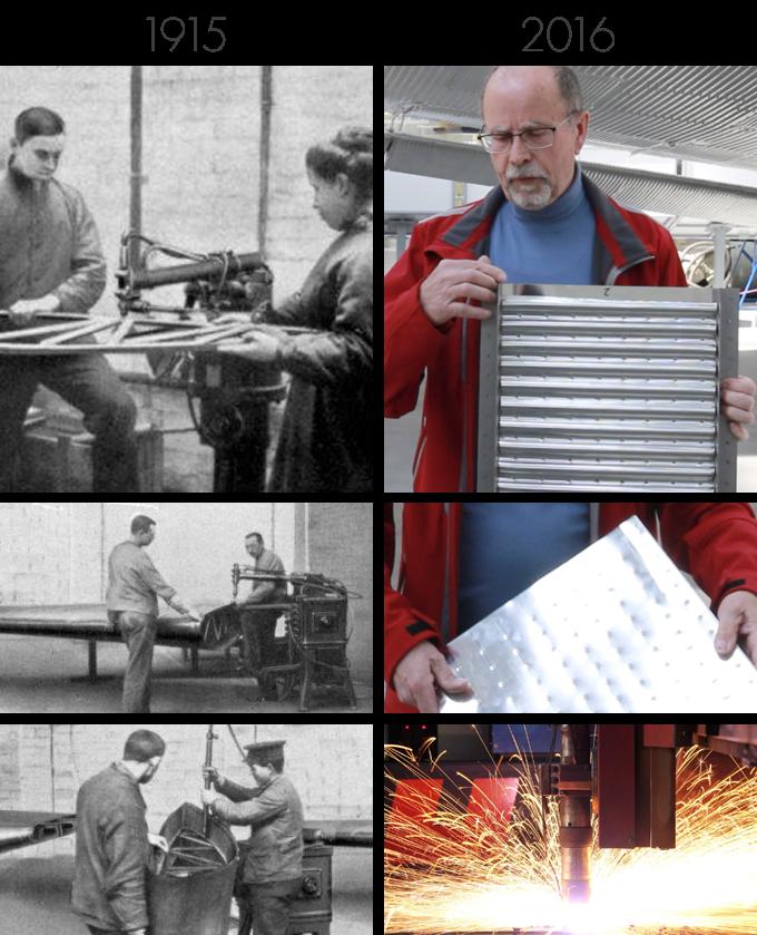 Schweißen von J1-Bauteilen damals und heute