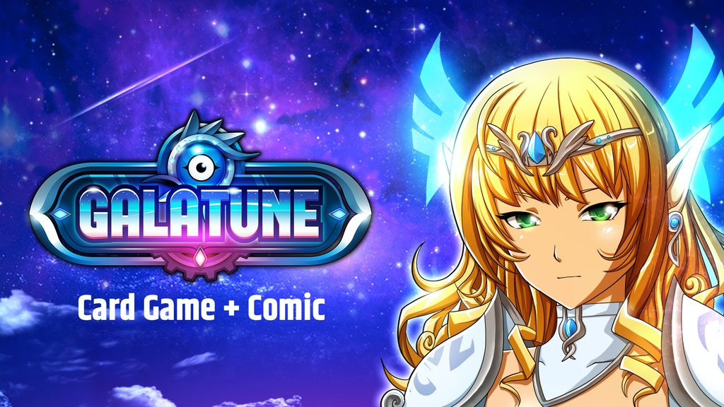 Galatune Action Packed Anime Battle Card Game And Comic Project Video Thumbnail