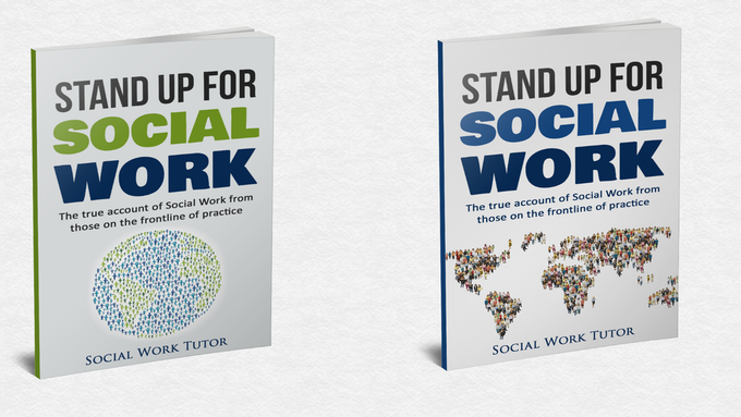 Stand up for Social Work book covers