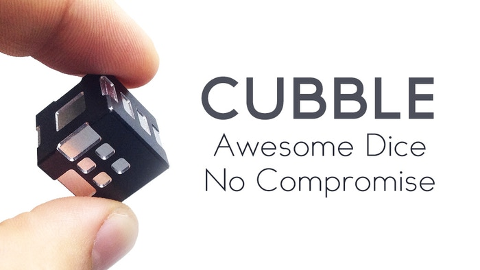 CUBBLE - Perfectly balanced RPG D6 metal dice! Crafted with love and awesomeness for your tabletop games!