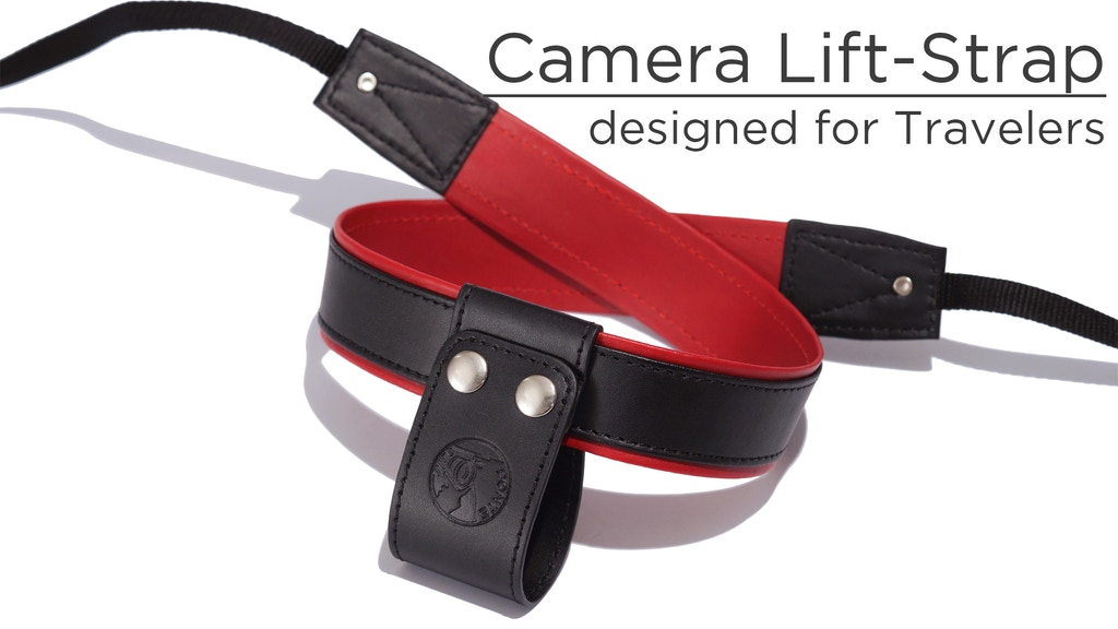 Camera Lift-Strap — A revolution for traveling photographers project video thumbnail