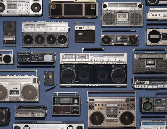 """Boombox Collection"" -Jim Golden Studios"