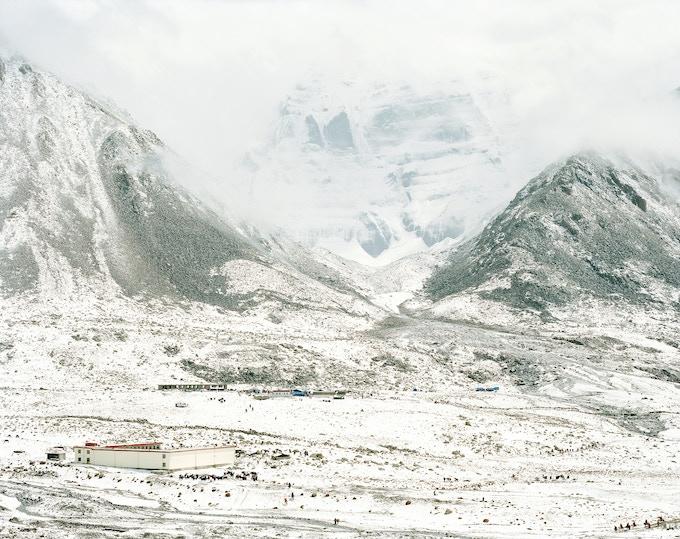 Mount Kailash Northface - Dirapuk Gompa
