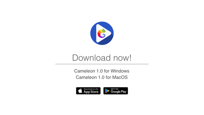 Download Cameleon 1.0 for Windows/Mac