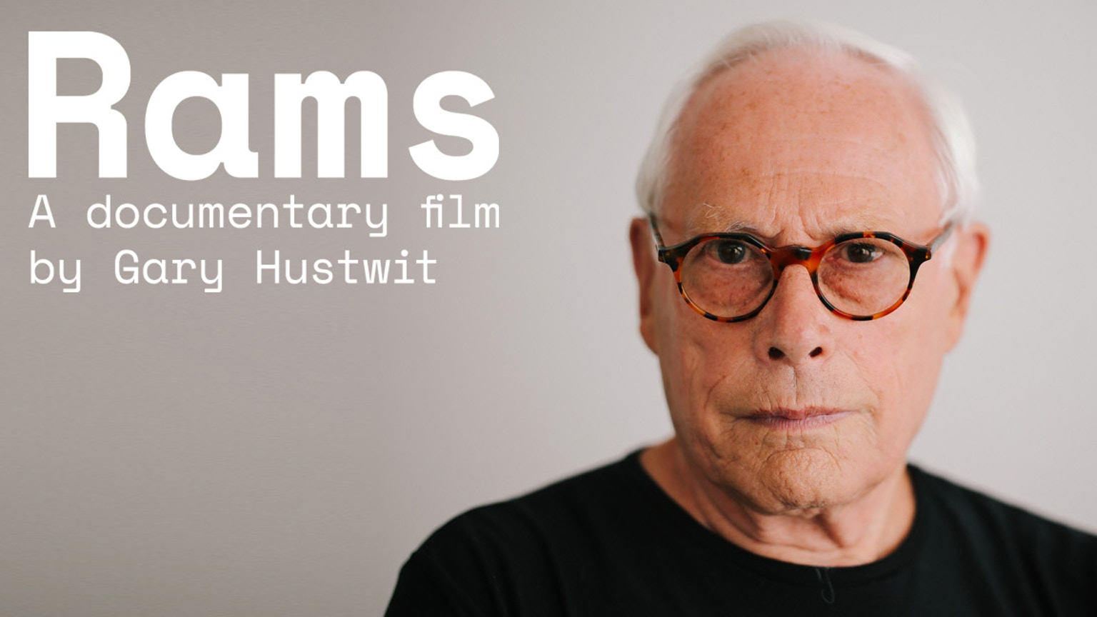 rams the first feature documentary about dieter rams by gary hustwit kickstarter. Black Bedroom Furniture Sets. Home Design Ideas