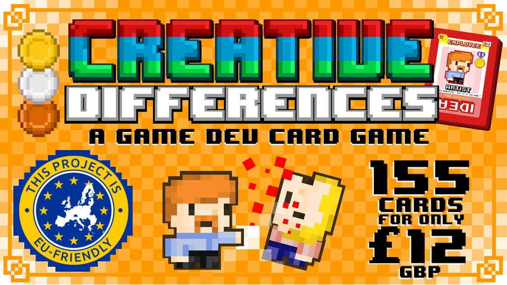 Creative Differences: The Video Game Development Card Game project video thumbnail