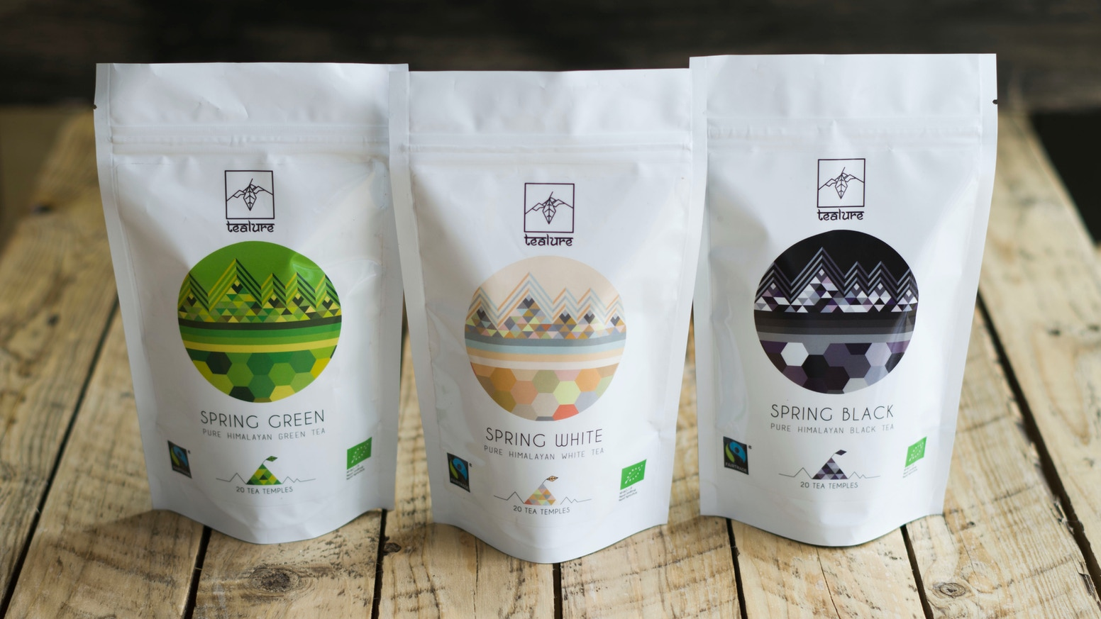 Specialty tea from the Himalayas in pyramid tea sachets, for easy use on the go, at home or in the office