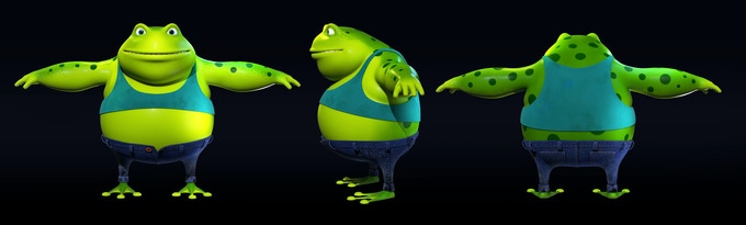 "Geno 3D Model ""T- Pose"""