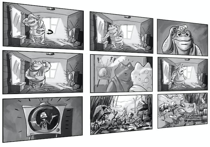 Storyboard Sample of Geno