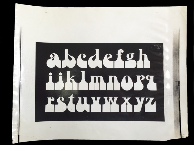"""For $100: """"Artone Alphabet,"""" 1964, working photostat, 14 x 11 in., signed, plus a copy of """"At War with War."""""""