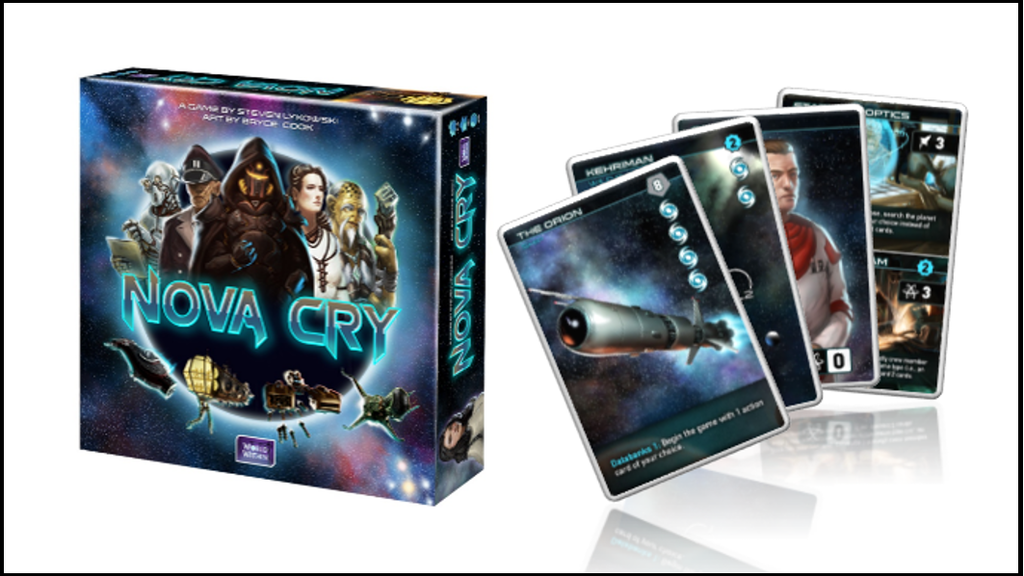 Nova Cry: A 30-minute Sci-Fi Card Game (2nd printing!) project video thumbnail