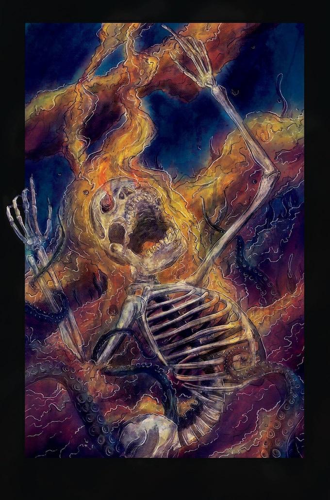 Book Two Design - Burn, Skeleton, Burn!