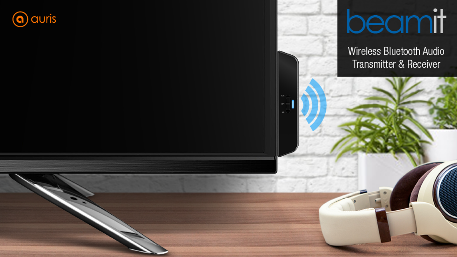 The ultimate solution for your TV or Home Audio Systems to wirelessly stream HiFi audio directly to any Bluetooth headphone or speaker.