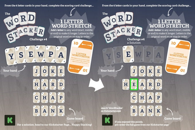 Wordstacker The Word Wrangling Card Game By Matt Knott Kickstarter