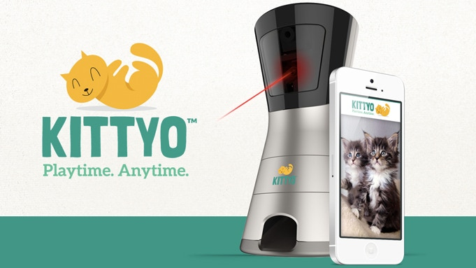 Introducing Kittyo – the only product of its kind that lets you remotely interact with your cat like never before.