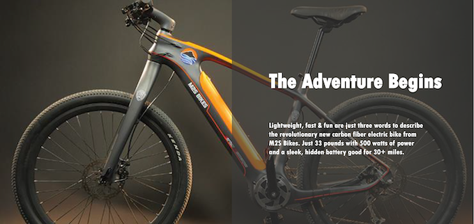 The All Go Carbon Fiber Electric Bike By Eric Crews