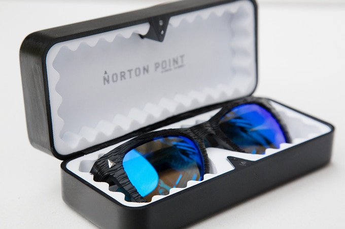 760a88c4266a ... Norton Point hard case is made from the same recovered Ocean Plastic  that makes our frames. With a simple magnet closure and clean practical  design this ...