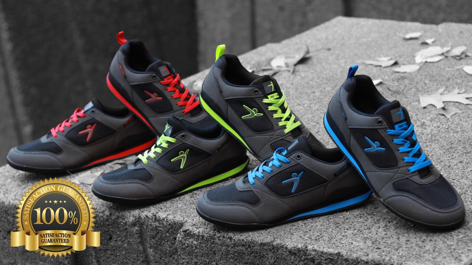 bb620fd32083 A Parkour   Freerunning Shoe For Everyone by Take Flight® — Kickstarter