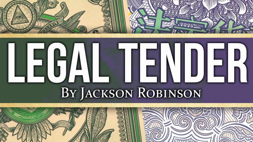 Legal Tender - Currency inspired Playing Cards project video thumbnail