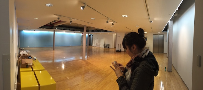 A look at the exhibit space at Pratt where we'll debut our first cohort's collaborations