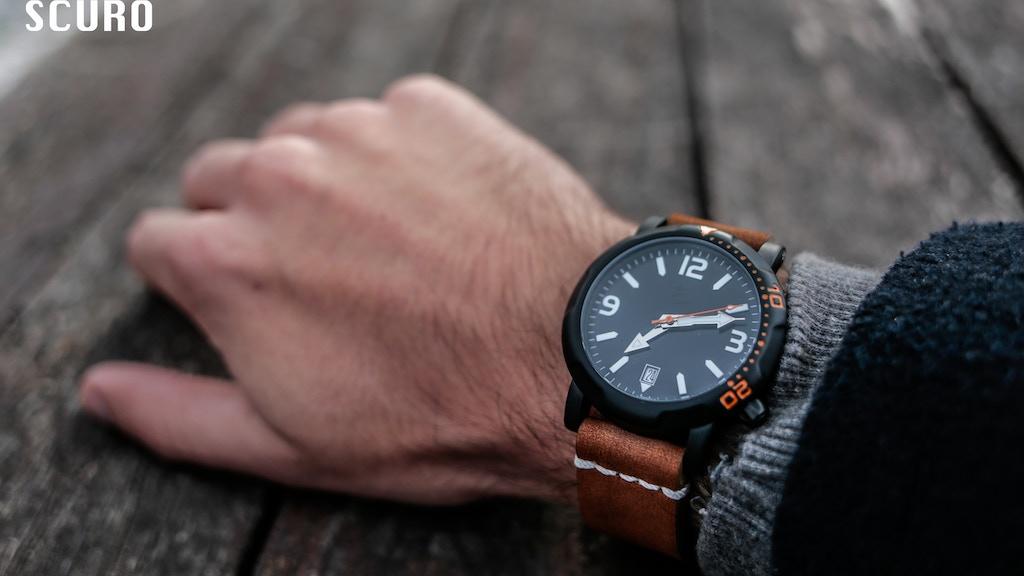 Automatic Titanium Dive Watches project video thumbnail