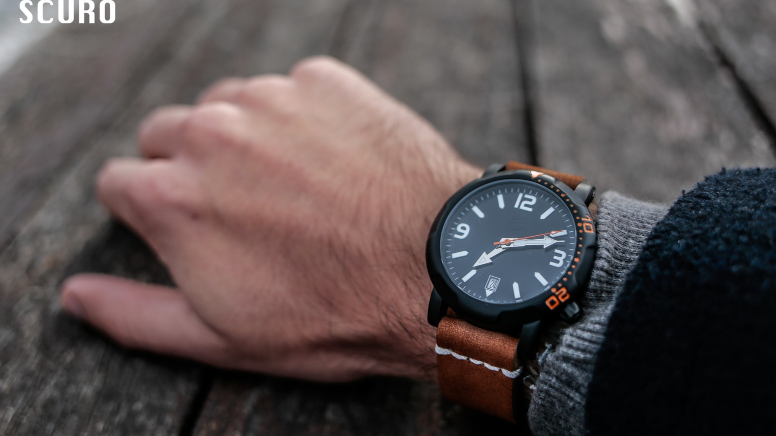 Concept to reality. Refined Titanium Scuba watches by : SCURO Watches