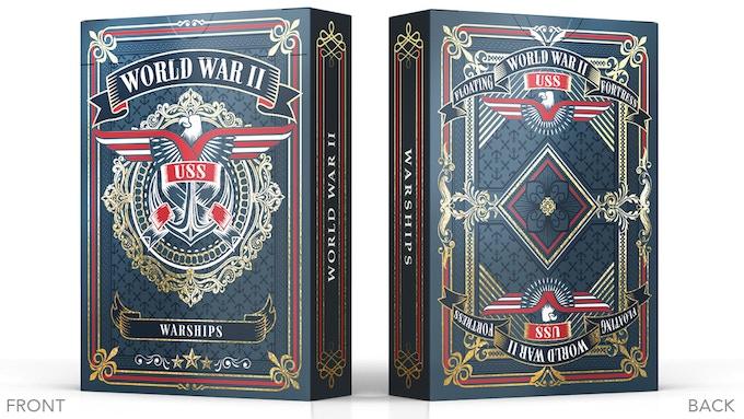 WWII Warships US Navy Tuck Box