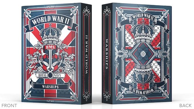 WWII Warships Royal Navy Tuck Box