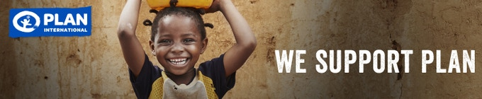 We are proud supporters of PLAN International's goal to give all children an equal chance in life.