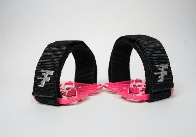 QuickStraps (sold separately)
