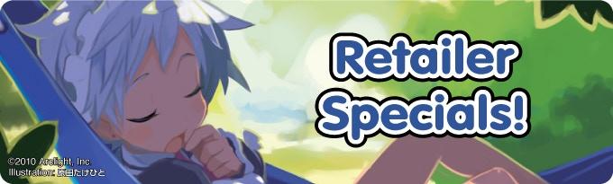 Retailer Specials