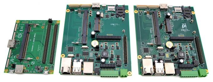 RPi CM Development Board, MyPi Rev1 Prototype, My Pi Rev 2