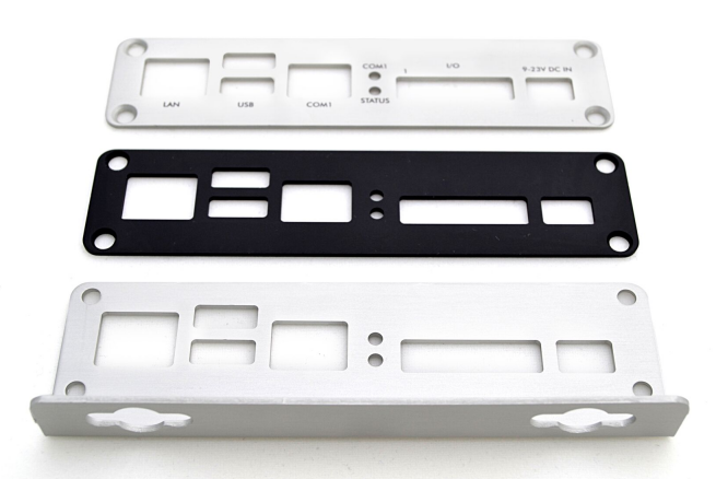 Different End Plate Styles Available