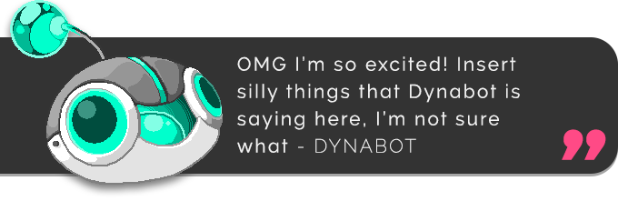 """Who needs real page content when you can have premium placeholder text!"" - Dynabot"