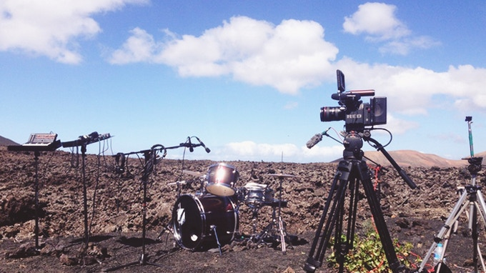Shooting in Lanzarote