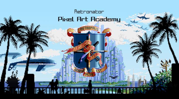 Retronator Pixel Art Academy By Matej Retro Jan Kickstarter