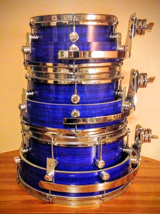 all three toms stacked