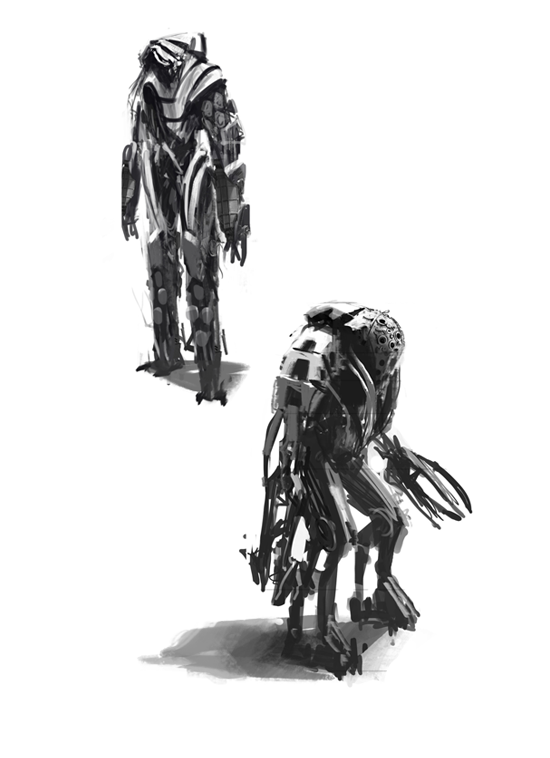 Enemy Sketches