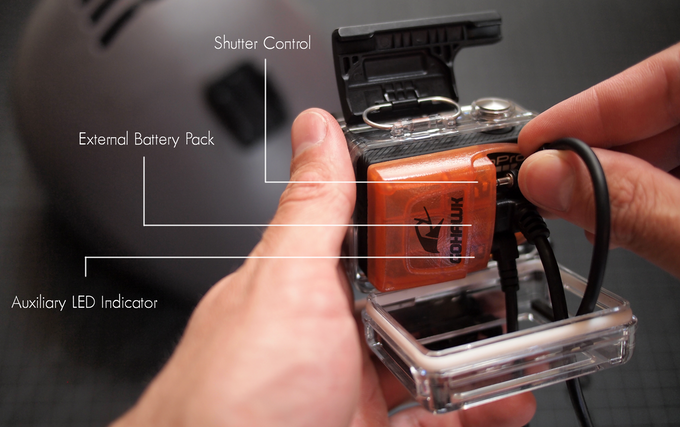 Three exciting new features, AND the GoHawk is compatible with Bacpac backdoors and the GoPro Frame mount