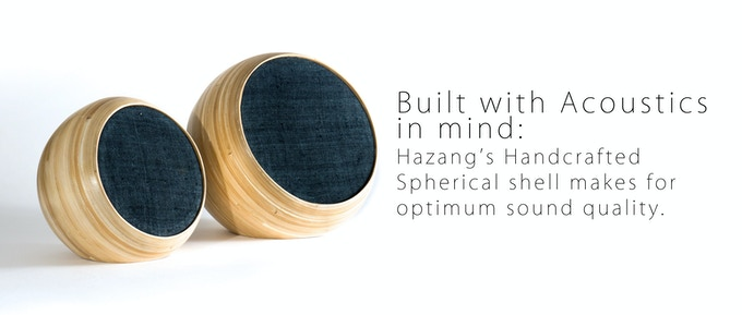 Spherical Bamboo Shell: Letting sound resonate acoustically.
