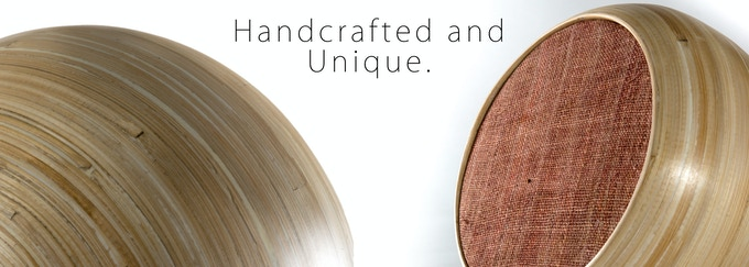 Hazang speakers are carefully crafted over several weeks, as a result, each speaker has its own story, personality, and unique aesthetic.