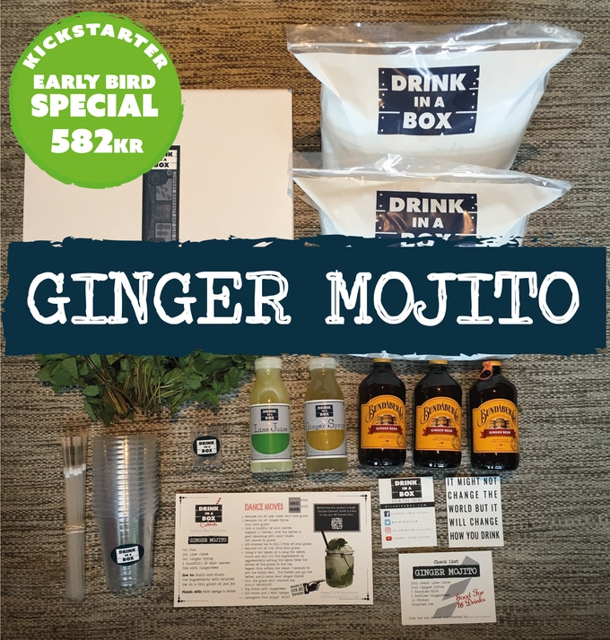 16 Ginger Mojitos Delivered To Your Door