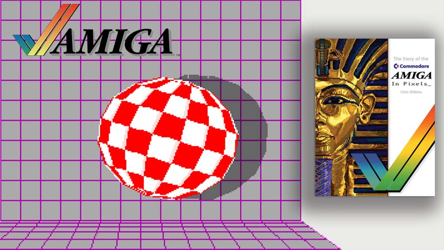 A high quality, 268 page book on the illustrious Commodore Amiga.