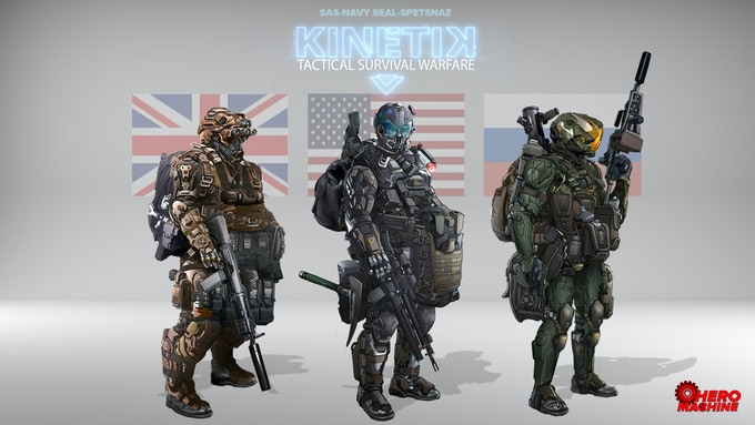 Join the Special Forces and choose your class