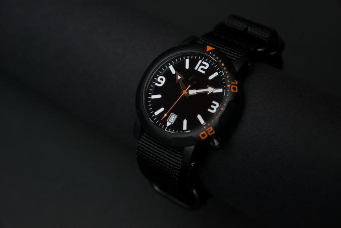 S1 Black - Nato strap