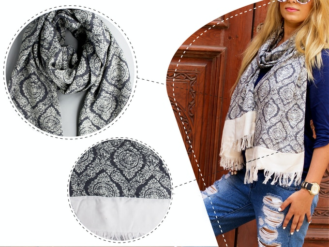 Express your individuality through our scarves